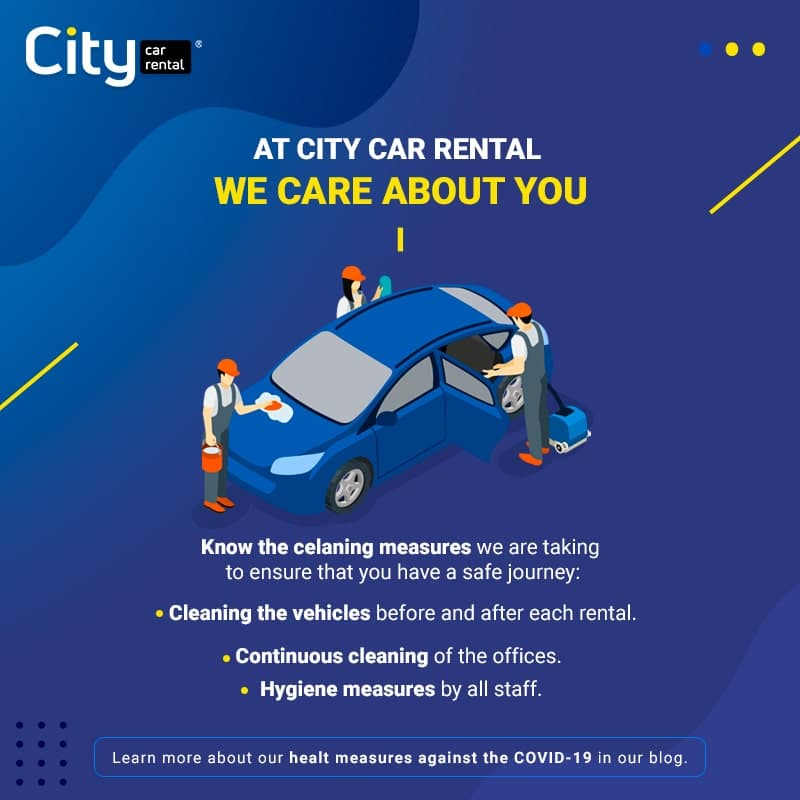 In City Car Rental we care about you