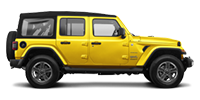 Rent a Jeep Unlimited Sahara in Cancun