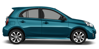 Rent a Nissan March in Cancun